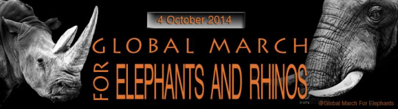 March for Elephants & Rhinos